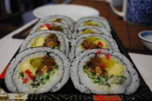 Sushi became popular! Maybe insects will too!  PC: Alpha (CC BY-SA 2.0)