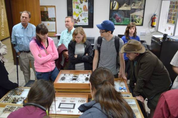 My students visiting the national collections in Quito, Ecuador. PC: Brian Little