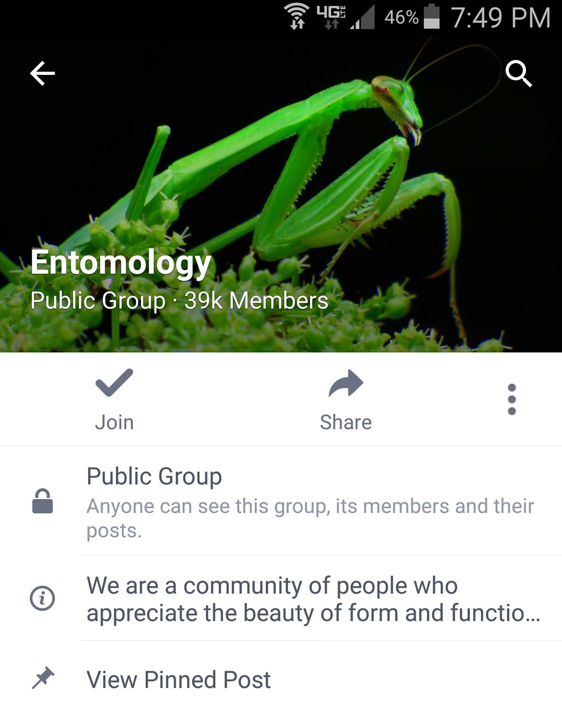 What does the entomologist do