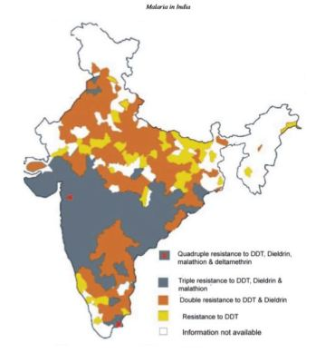 Pesticide resistance in India